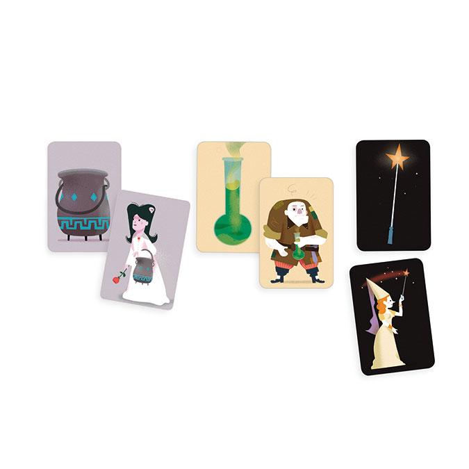 Jeu de cartes Magic School