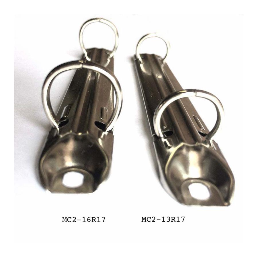 Mécanisme classeur 2 anneaux 13 mm