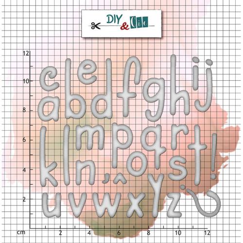 Die Set Alphabet classique - 29 pcs