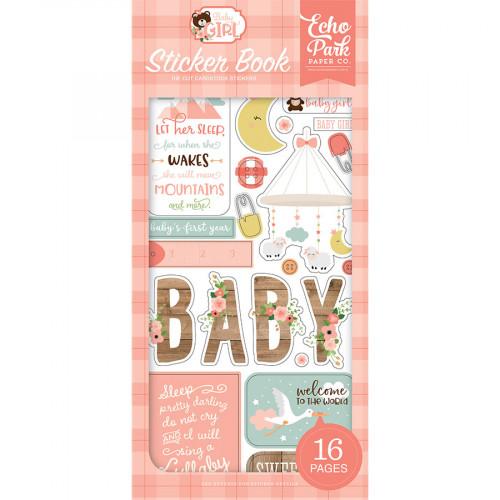 Baby Girl Sticker Book