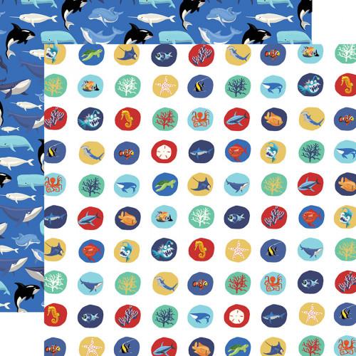 Fish are Friends - Papier Deep Sea Circles