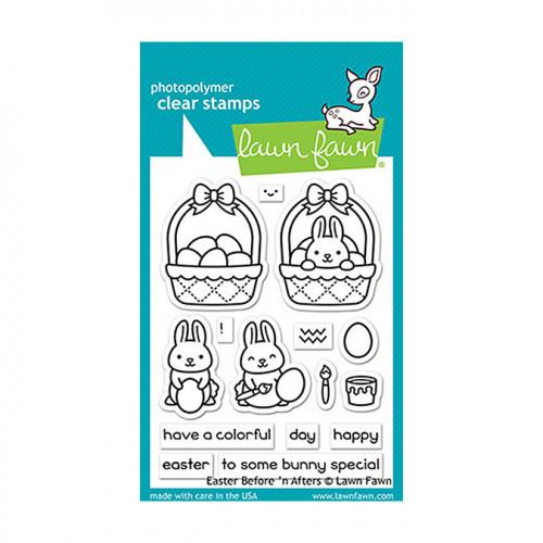 Tampons transparents Pâques