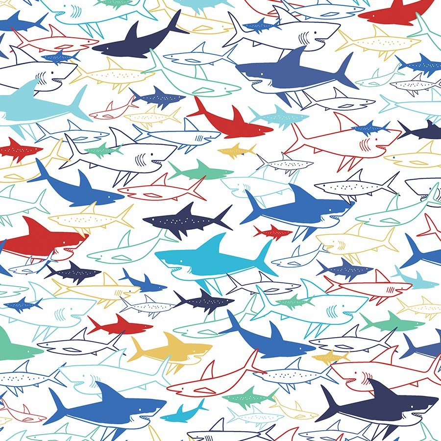 Fish are Friends - Papier Border Strips