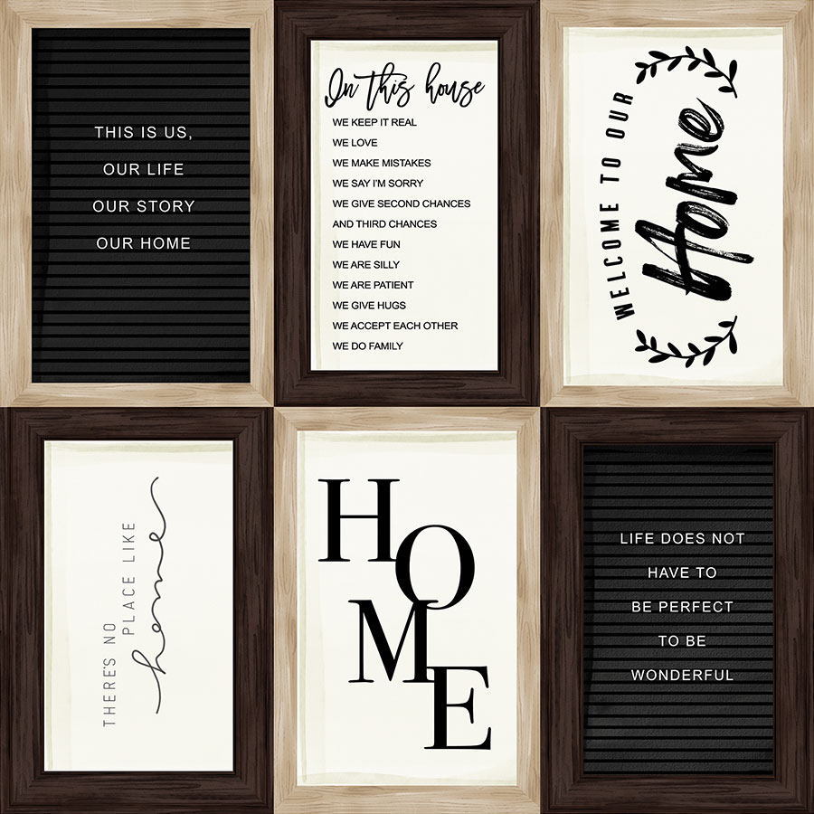 Home Again - Papier 4x6 Journaling Cards