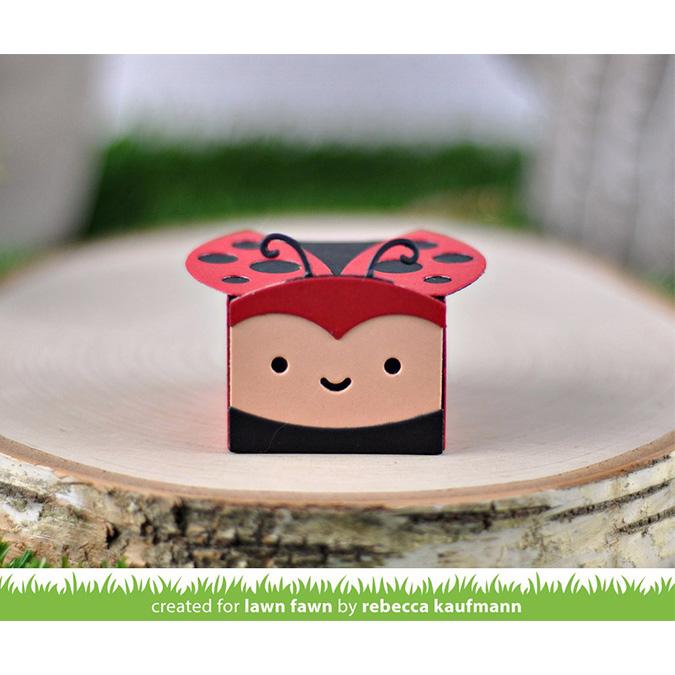 Die Set Coccinelle pour Mini boîte cadeaux