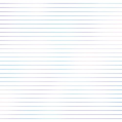 Calque imprimé lignes 30 x 30 cm - effet holographique