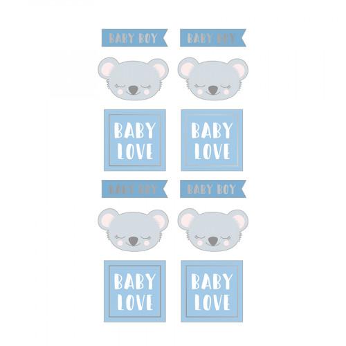 Puffy Stickers Baby Boy