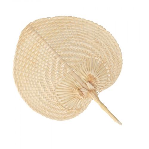 Eventail en bambou 37 x 30 cm