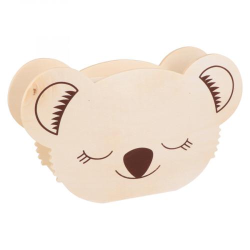Tirelire en bois Koala 21 x 12,5 x 5 cm