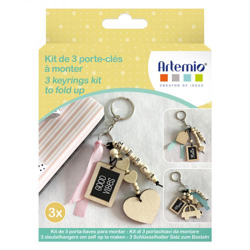 Kit Porte-clés DIY Merci