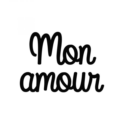 Die Mon Amour - 6,2 x 4,5 cm