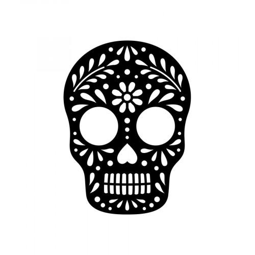 Die Tête de mort - 8,4 x 11,5 cm