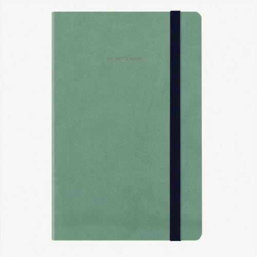 Carnet Bullet Journal Vert 13 x 21 cm - 192 pages
