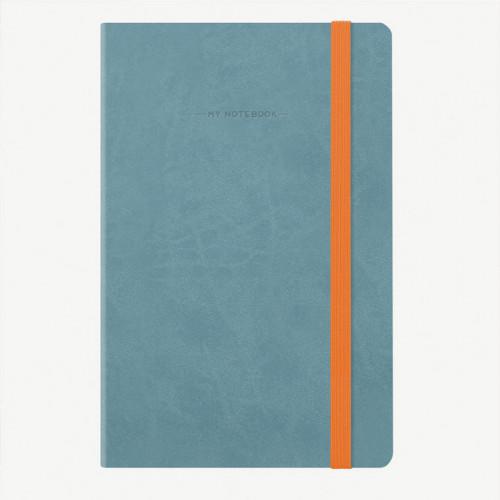 Carnet Bullet Journal Bleu 13 x 21 cm - 192 pages