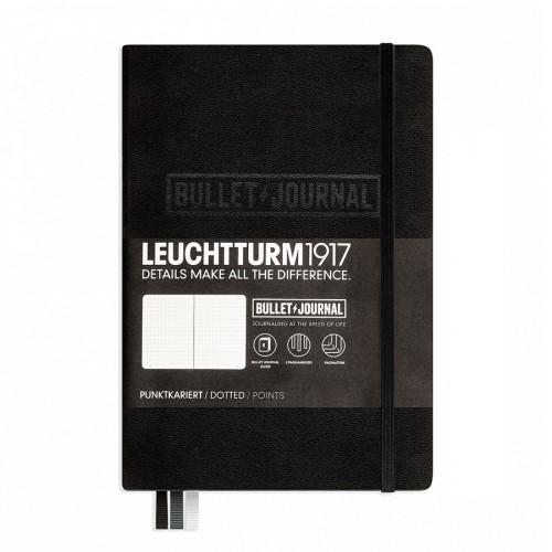 Carnet Bullet Journal noir 14,5 x 21 cm