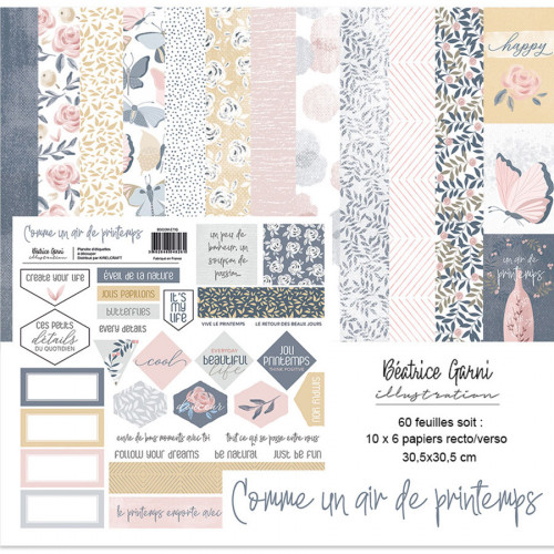 Comme un air de printemps Kit de collection
