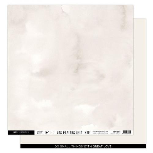 Papier uni #15 beige lin
