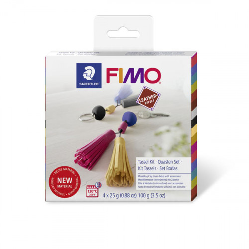 Coffret Fimo Cuir : Pampille