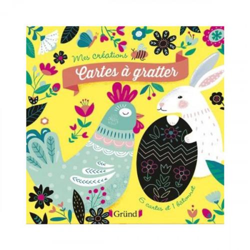 Cartes à gratter Joyeuses Pâques - 6 pcs