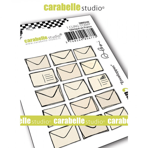 Tampon Cling Enveloppes - Mini