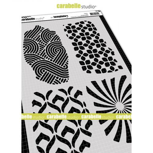 Pochoir Textures #2 - A4