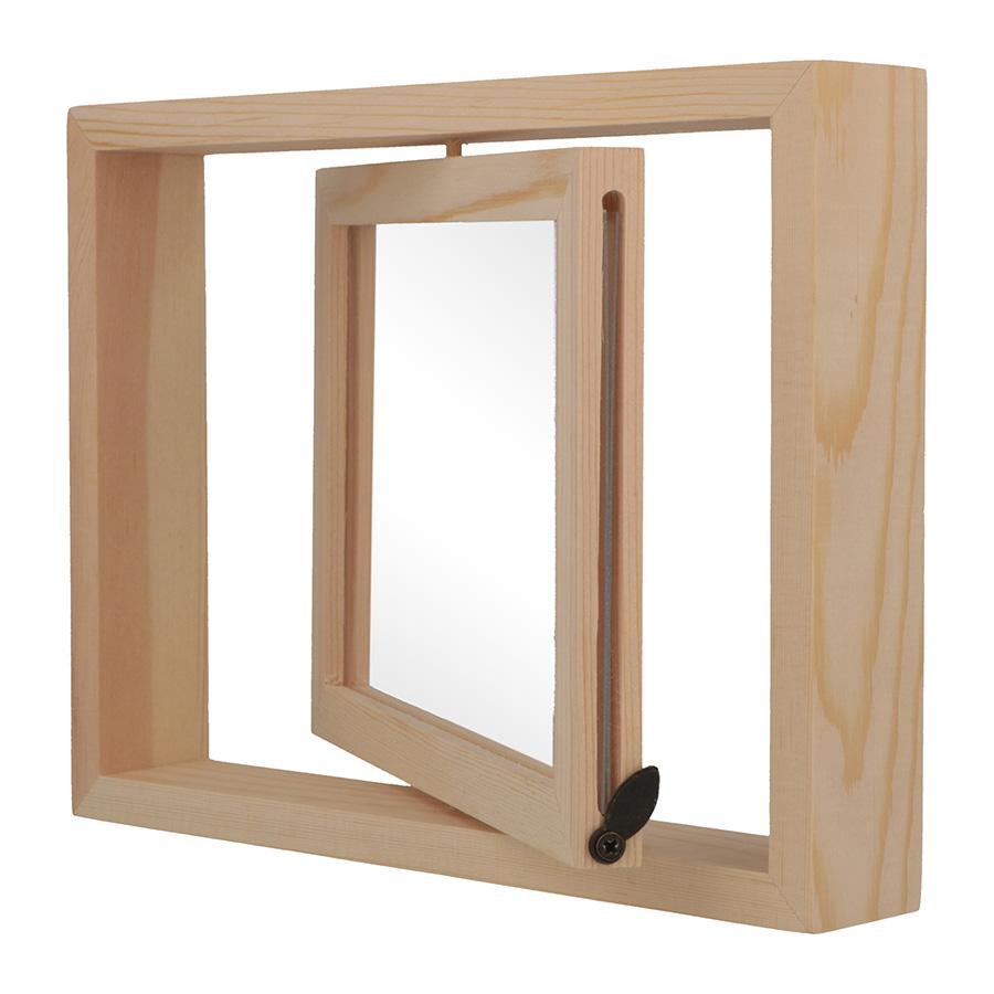Cadre pivotant en bois 19,5 x 15 x 3 cm