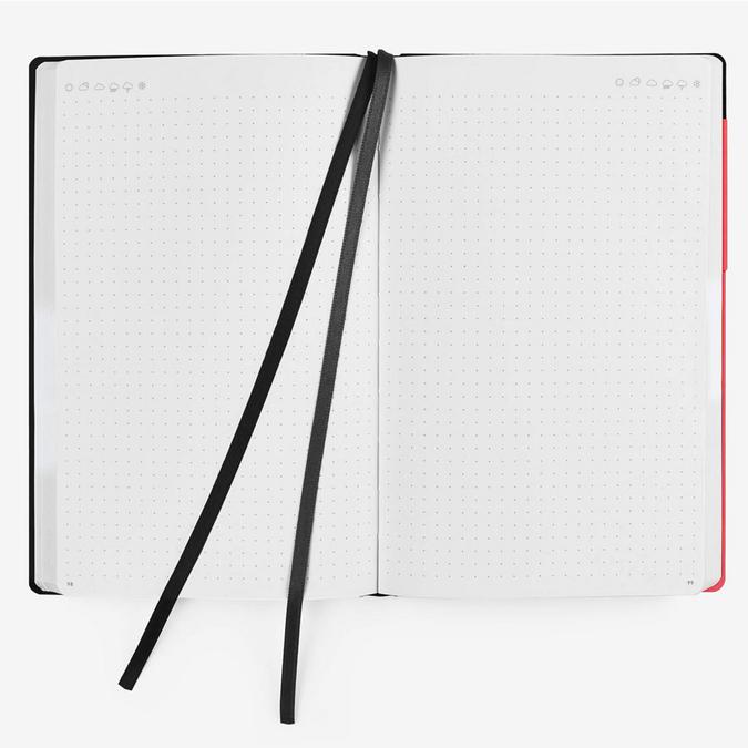 Carnet Bullet Journal Corail 13 x 21 cm - 192 pages