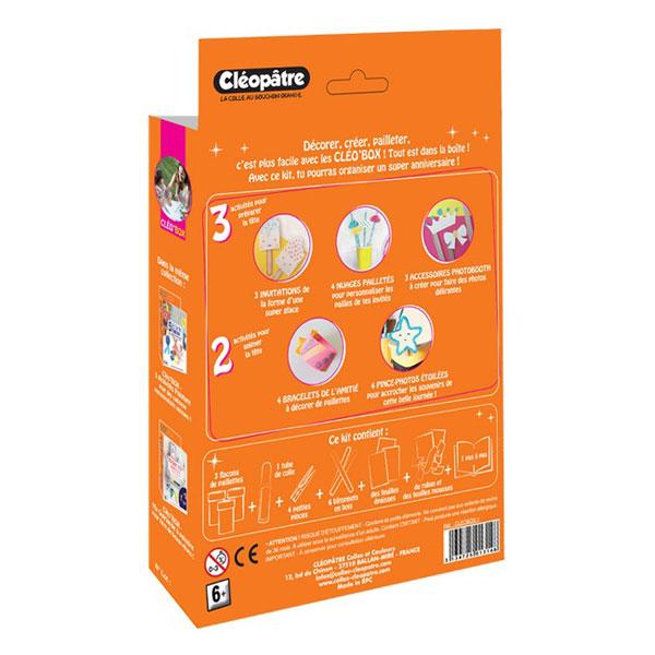 Cléo'Box 5 activités Paillettes
