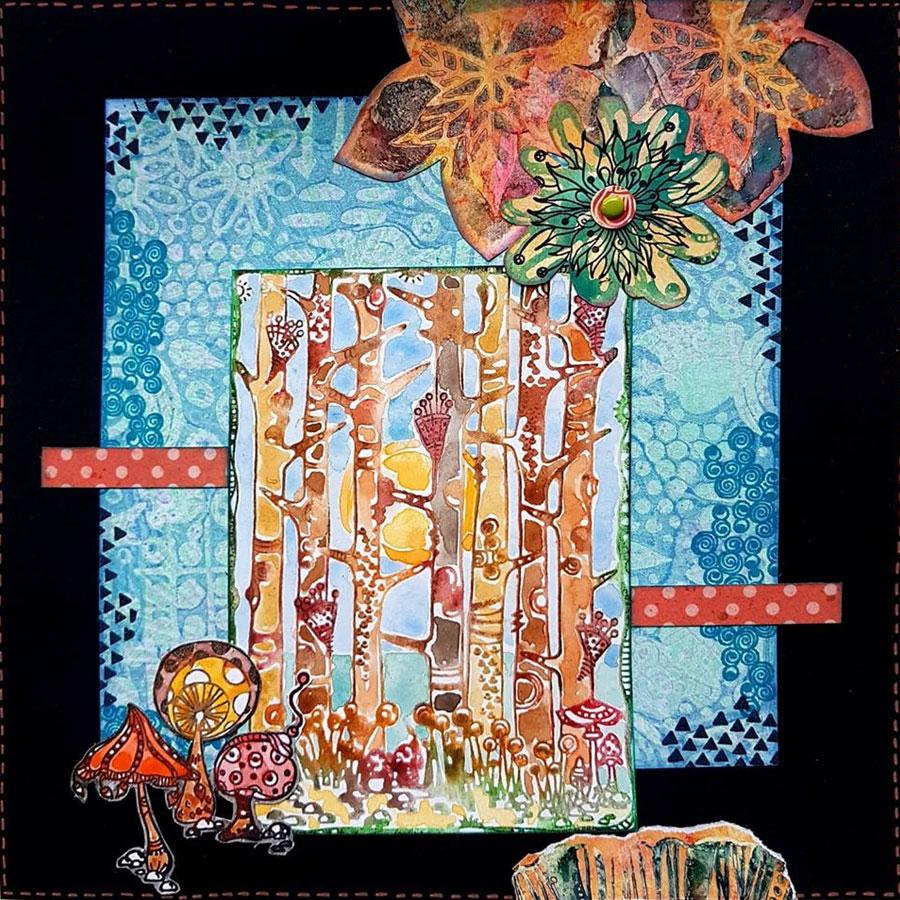 Tampons Cling Frises des Zolitins - 4 pcs