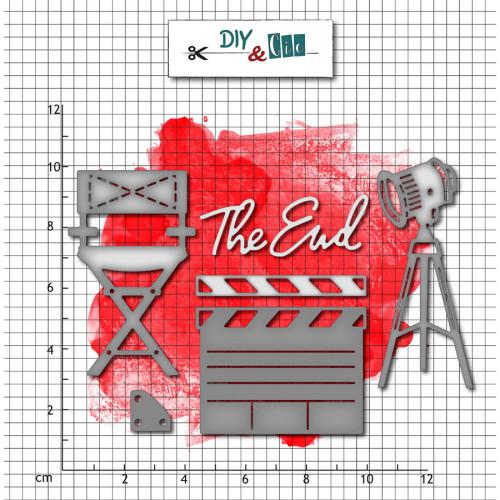 Die Set En plateau - 6 pcs