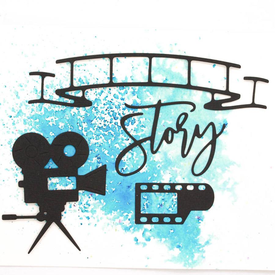 Die Set Story - 4 pcs