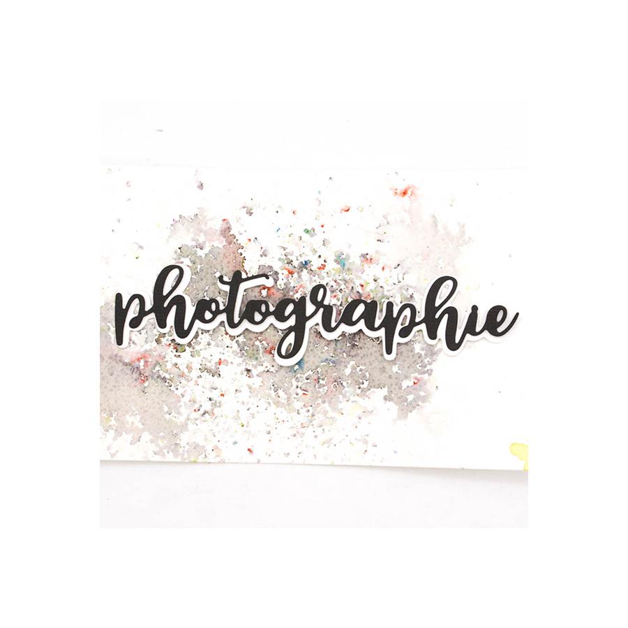 Tampons et Dies Photographie - 3 pcs