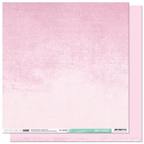 Carnet de Route Papier Back to Basics Rose Pastel