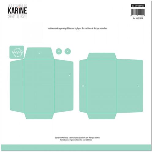 Die Set Enveloppes - 5 pcs