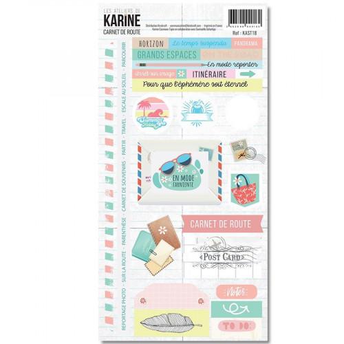 Carnet de Route Stickers