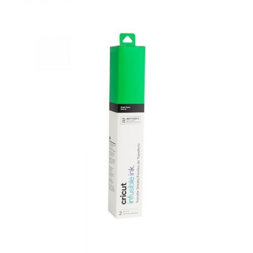 Feuilles de transfert Infusible Ink Vert - 2 feuilles de 30,5 x 30,5 cm