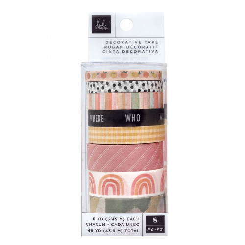 Storyline Chapters Washi Tape - 8 rouleaux