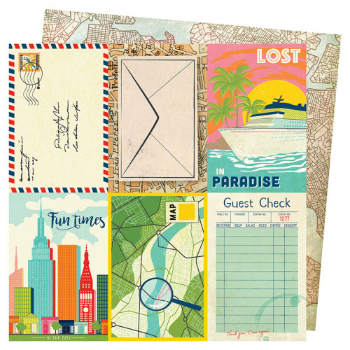 Let's Wander - Papier Lost in Paradise