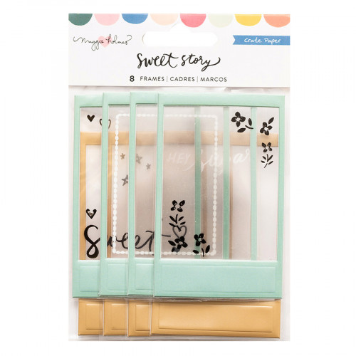 Sweet Story Cadres Puffy - 8 pcs