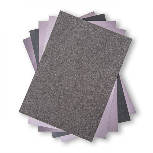 Cardstock Pack Tons charbons - 20,3 x 29,2 cm - 50 feuilles