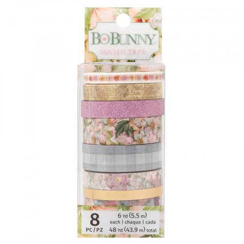 Garden Grove Washi Tape - 8 rouleaux