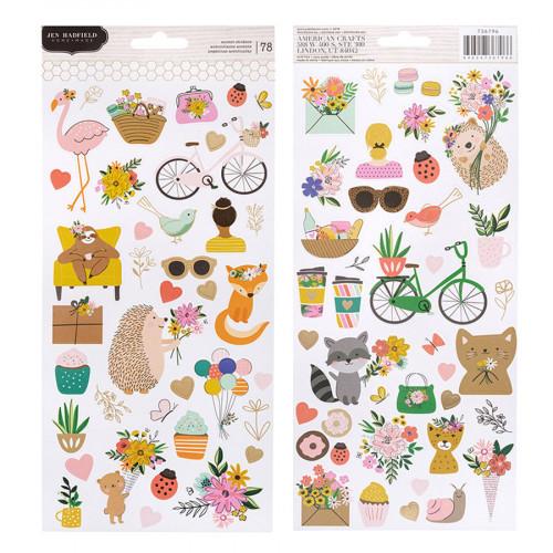 Hey, Hello Stickers - 78 pcs