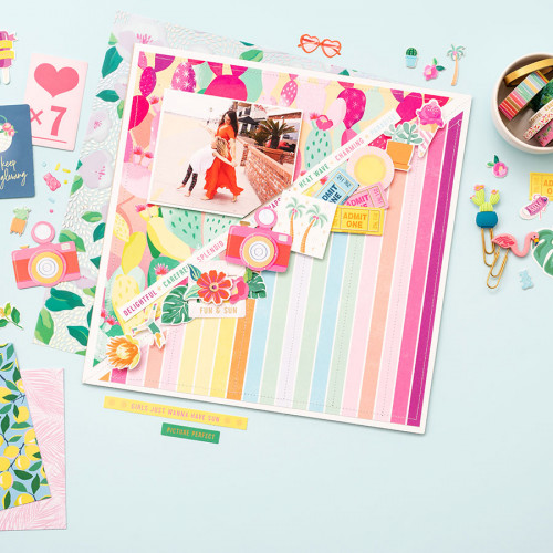 Here and Now Washi Tape - 8 rouleaux