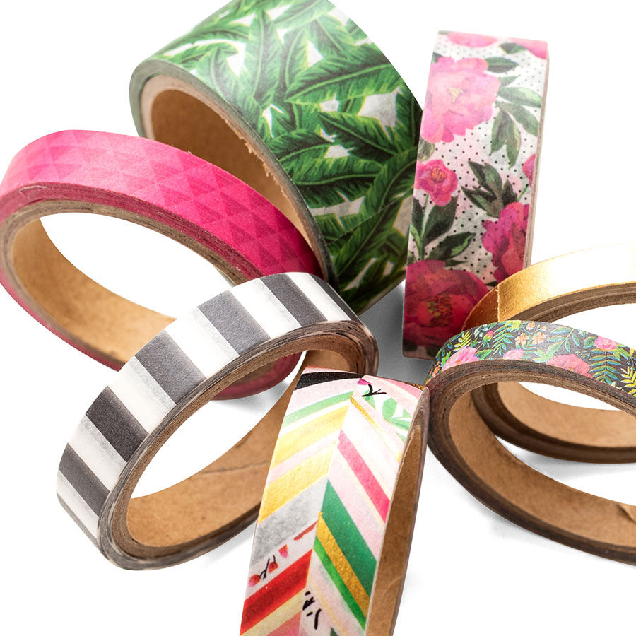 5th and Monaco Washi Tape - 8 rouleaux