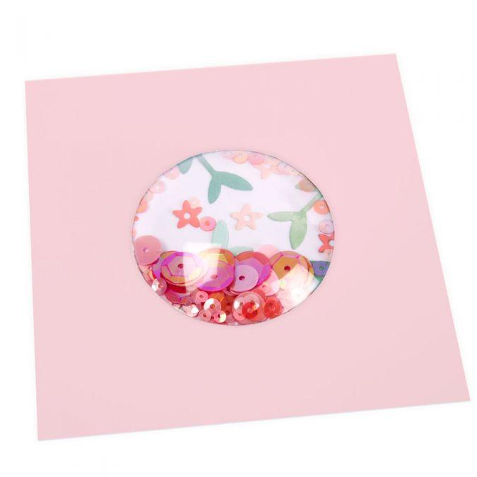 Dômes ronds pour Shaker Cards - 5,1 cm