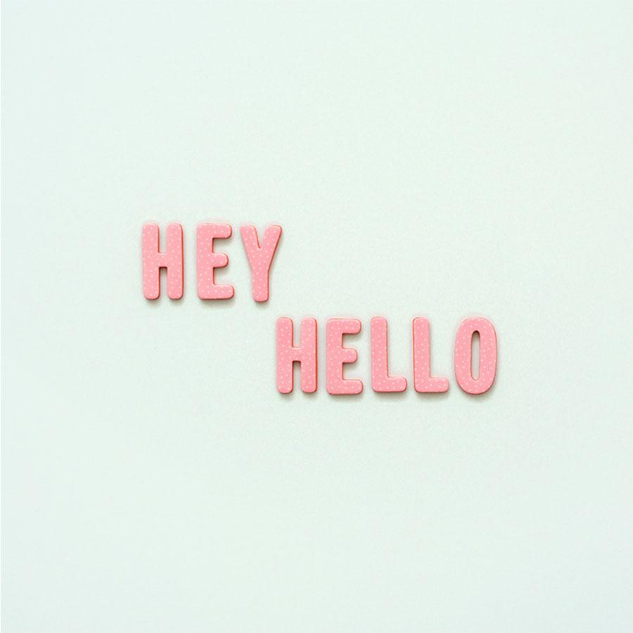 Alphabet Stickers en mousse Hey, Hello - 138 pcs