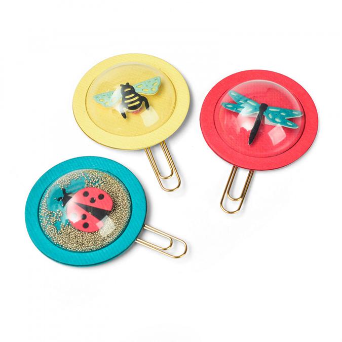Dômes ronds pour Shaker Cards - 6,4 cm