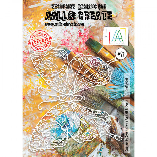 Pochoir #92 Swallowtail - A4
