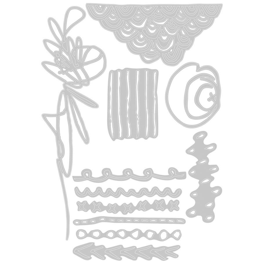 Thinlits Die Set Symboles Mixed Media - 11 pcs