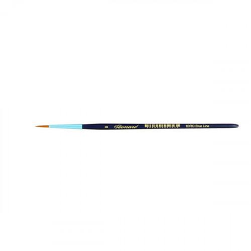 Pinceau rond en fibre synthétique série Blue Line 80RO n°8